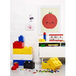Room Copenhagen Lego Storage Brick 4, yellow