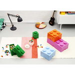 Room Copenhagen Lego Storage Brick 8, medium pink