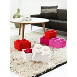 Room Copenhagen Lego Storage Brick 4, medium pink