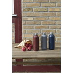 Stelton Keep Cool water bottle, warm maroon