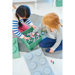 Room Copenhagen Lego Storage Brick 8, grey