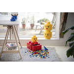 Room Copenhagen Contenitore Lego Storage Head, L, Girl