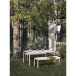 Muuto Linear Steel table 200 x 75 cm, white
