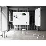Lintex Mono Mobile glassboard, 150,7 x 196 cm, white