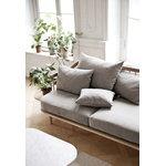 &Tradition Fly SC3 sohva sivupöydillä, valkoöljytty tammi - Hot Madison 094