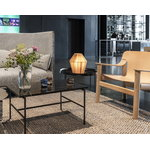 Hay Rebar coffee table 80 x 49 cm, black marble