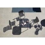 Petite Friture Week-end table 85 x 85 cm, black