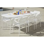 Petite Friture Week-end table 85 x 180 cm, white