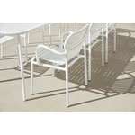 Petite Friture Week-end bridge chair, white