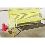 Petite Friture Week-end bench, yellow