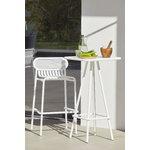 Petite Friture Week-end high stool, white
