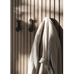 Menu Afteroom coat rack, small, black