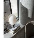 Menu JWDA table lamp, large, white marble