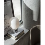 Menu Lampada da tavolo JWDA, grande, marmo bianco