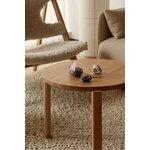 Menu Passage lounge table, 50 cm, oak
