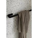 Menu Towel bar, all black