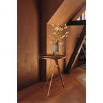 Menu Umanoff side table, 60 cm, walnut - brushed brass