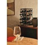 Menu Umanoff wine rack, black - cognac