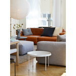 Hay Mags Soft sofa 331 cm, low arm right, Linara 443 - light grey