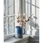 Hay Marbled jug, blue