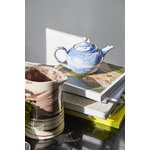 Hay Marbled teapot, blue
