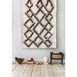 Finarte Tie rug 140 x 200 cm, brown
