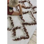 Finarte Tie matto 140 x 200 cm, ruskea