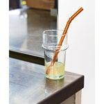HAY Sip Dots straws, 6 pcs, glass