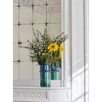 HAY Moroccan vase, L, blue - green