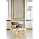 Sika-Design Madame nojatuoli, tummanharmaa istuintyyny