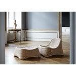 Sika-Design Chill nojatuoli ja rahi, rottinki