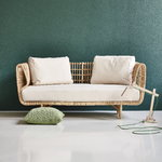 Cane-line Divine cushion, 50 x 50 x 12 cm, olive green