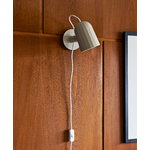 Hay Noc wall lamp, white