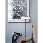 Nuura Blossi lattiavalaisin 29 cm, musta - opaali