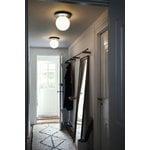 Nuura Lampada da parete/soffitto Liila 1, grande, argento - opale