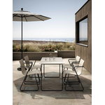 Mater Ocean table 140 x 70 cm, sand