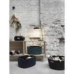 Muuto Restore storage basket, midnight blue