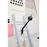 Hay PC table lamp with clamp, single arm, black