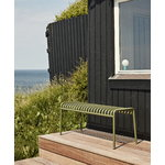 Hay Palissade bench, olive