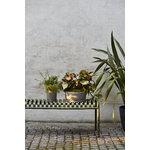 Hay Palissade penkki, oliivinvihreä