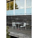 Hay Terrazzo table, 70 cm, light grey - red