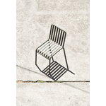 Hay Palissade chair, olive