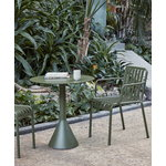 Hay Palissade Cone table 70 cm, olive