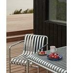 Hay Palissade pöytä 80 x 80 cm, galvanoitu