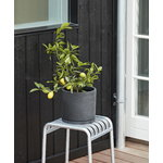 Hay Palissade stool, hot galvanised