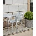 Hay Palissade armchair, hot galvanised