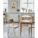 HAY Petit Standard tuoli, helmenvalkoinen - mattalakattu tammi