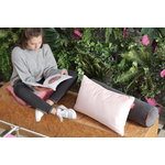 Fatboy Square Velvet pillow, deep blush