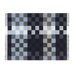 Silkeborg Uldspinderi Plain Beat throw, muted blues
