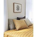 Hay Mega Dot bed cover, mustard